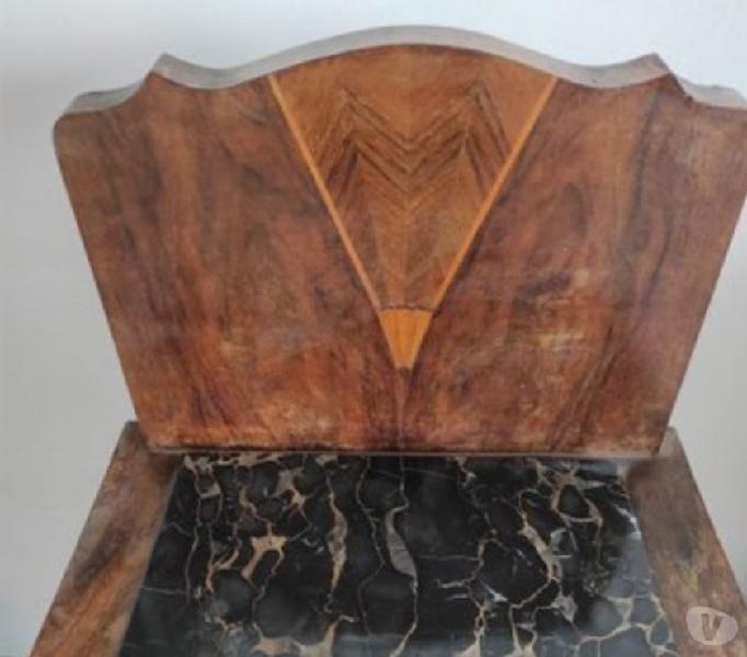Comodino con top in marmo nero in vendita brescia - vendita mobili usati