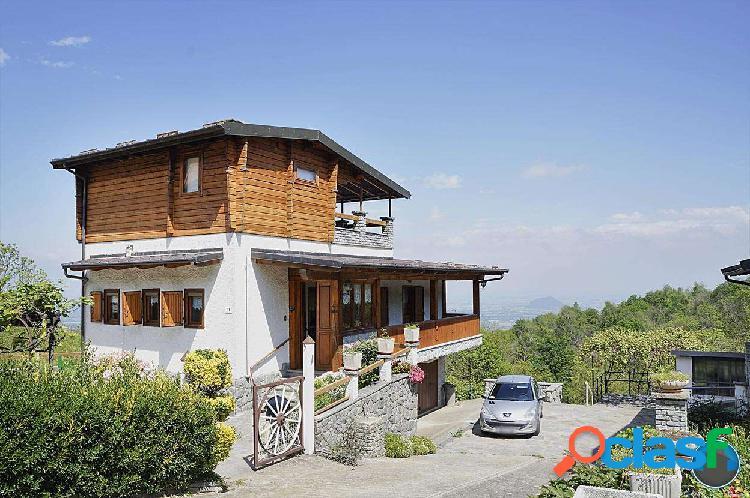 Casa indipendente stile chalet con tipica sauna fi