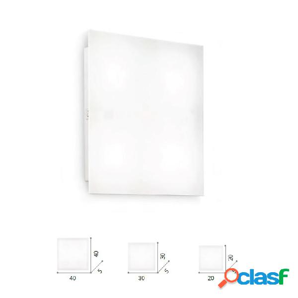 Lampada soffitto flat 1/4 luci