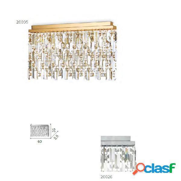 Lampada soffitto elisir 6 luci