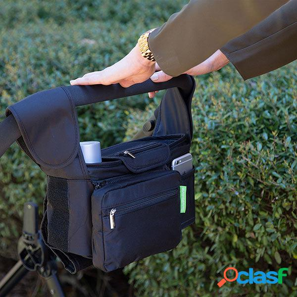 Kcasa kc-0526 passeggino staccabile grande organizzatore porta cellulare portaoggetti da viaggio borsa