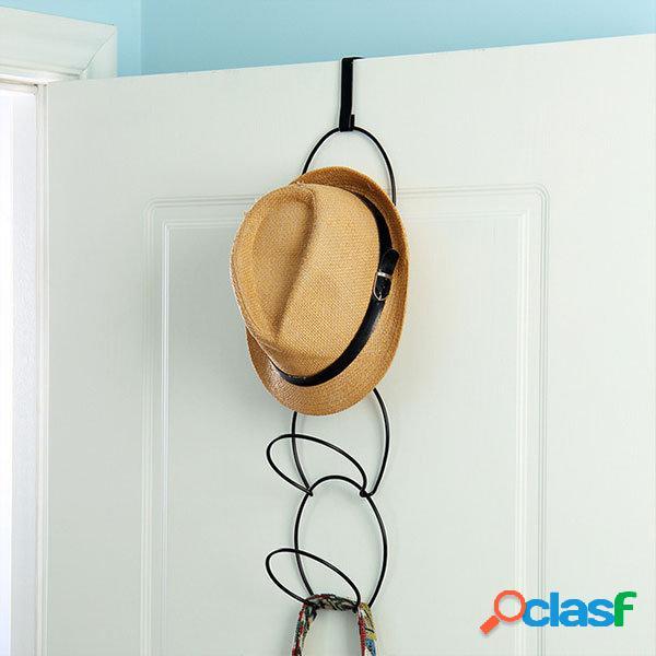 Cappelli cravatte portabiti filo portaoggetti impilabile scaffale cucina organizzatore porta ganci a muro