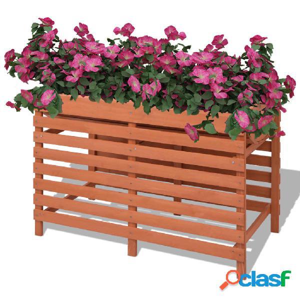 Vidaxl fioriera 100x50x71 cm in legno