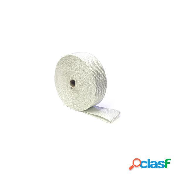 Benda termica collettori di scarico 822° bianco 50mm 5mt