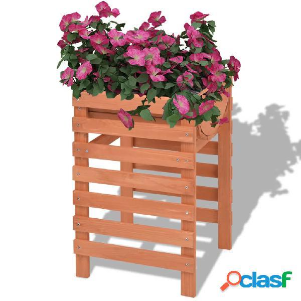 Vidaxl fioriera 38x36x60 cm legno