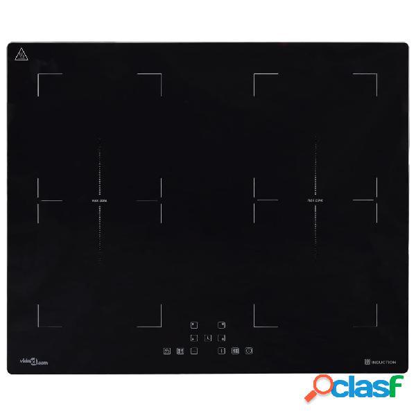 Vidaxl piano cottura a induzione flexizone touch control 3500w 60 cm