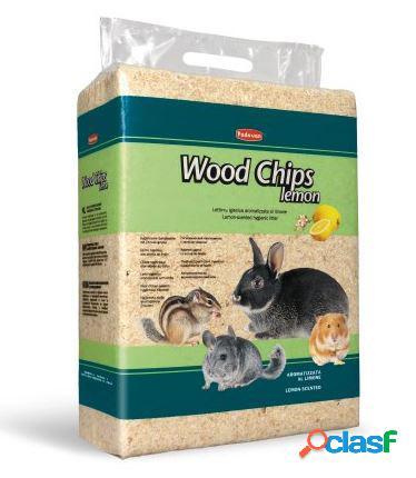 Padovan wood chips lettiera vegetale limone 56 lt / 4 kg