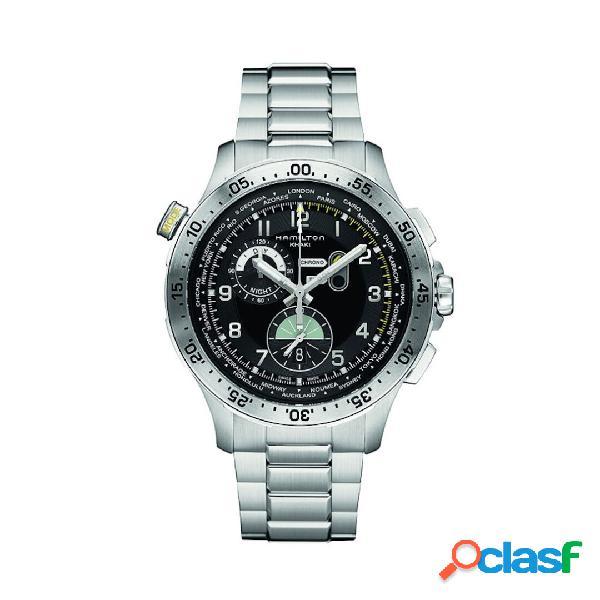 Hamilton orologio uomo cronografo collezione khaki aviation mod. h76714135