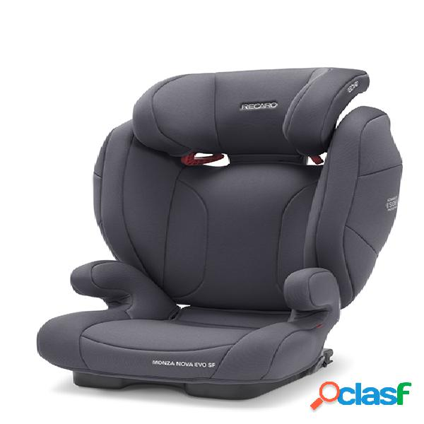 Seggiolino auto recaro monza nova evo seatfix simply grey