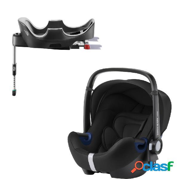 Seggiolino auto britax romer baby-safe 2 i-size cosmos black+base flex