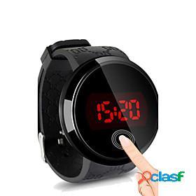 Men's wrist watch digital watch digital digital simple watch water resistant / waterproof touch screen creative / silicone / two years