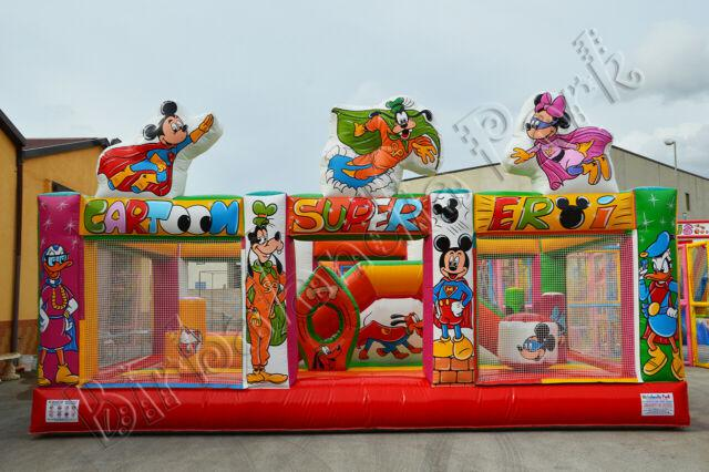 Vendita giochi gonfiabili scivoli playground trampolini