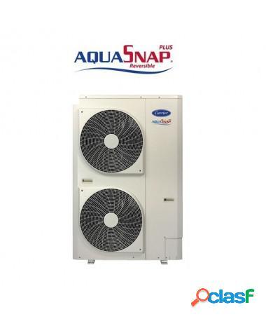 Pompa di calore mini chiller carrier aquasnap plus 15 kw 30awh015hd completa di comando 33aw-cs1b e 1° avviamento