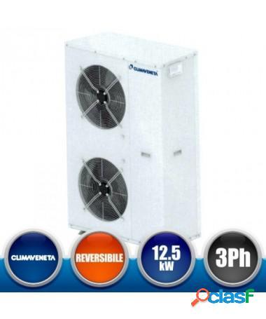 Pompa di calore minichiller climaveneta i-bx-n013t con vaso espansione valvola di sicurezza, manometri e comando incluso