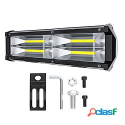 Otolampara nuovo arrivo cob car work light 72w 9 pollici led light bar for car tractor boat offroad off road 4wd 4x4 truck suv atv driving dc12v-24v lightinthebox