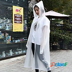 Per donna per uomo unisex poncho antipioggia giacca impermeabile da escursione giacca anti-pioggia all'aperto ompermeabile portatile leggero antivento bambini poncho superiore campeggio e hik