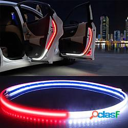 Otolampara 4 pezzi nuovo elegante 47 pollici 30w porta interna per auto luce di benvenuto led di avvertimento di sicurezza stroboscopico striscia di lampada 120 cm impermeabile auto luci ambi