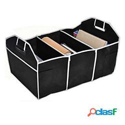 Organizzatore multi-tasca per auto aumohall ripiegabile e riordino per bauletto pieghevole di grande capacità lightinthebox