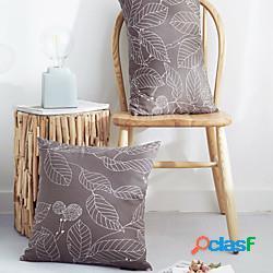 Fodera per cuscino rinfrescante foglia stile semplicità fodera per cuscino fodera per divano camera da letto moderna fodera per cuscino camera da letto moderna lightinthebox