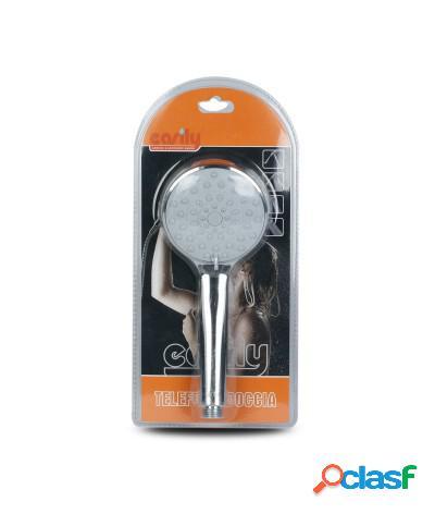 Soffione doccia con getto a pioggia regolabile diametro 11 cm j-e49-52041