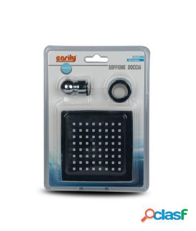 Soffione doccia quadrato 10 cm j-e75-69283