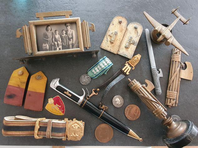 Acquisto caschi militari pugnale fascisti compro medaglie e