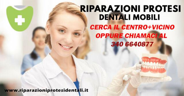 Riparazioni protesi dentali mobili brindisi