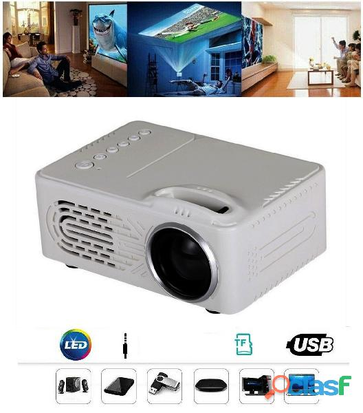 Mini proiettore portatile per film a casa e karaoke