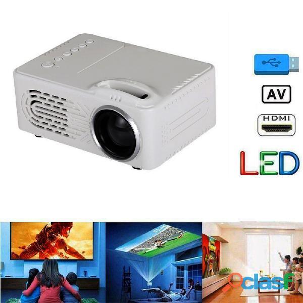 Mini proiettore portatile per film a casa e karaoke 5