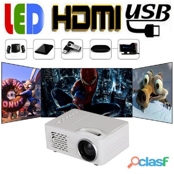 Mini proiettore portatile per film a casa e karaoke 6