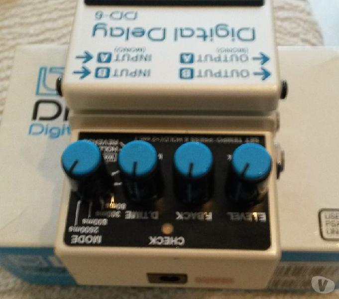 Boss dd6 +ch1 +te2 + dsd3 + tu3 vercelli - strumenti musicali in vendita