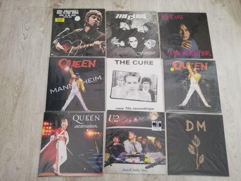 Cure - queen- ac/dc - bowie - doors - metallica -nirvana
