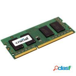 Crucial memoria so-ddr3 8 gb pc1600 mhz (1x8) (ct102464bf160b) - crucial
