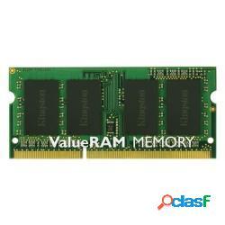 Kingston memoria so-ddr3 4 gb pc1600 mhz (1x4) (kvr16ls11/4) - kingston