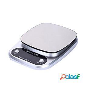 Digital kitchen scale 10kg food scale multifunction weight scale electronic baking amp; cooking scale with lcd display silver