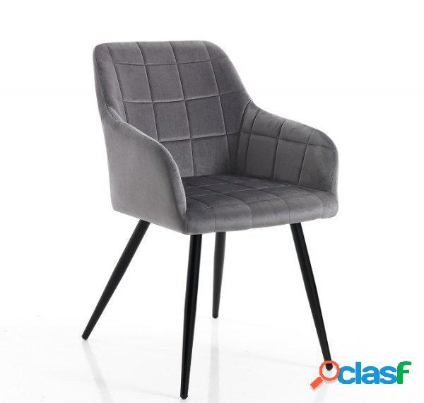 2 sedie moderne effetto velluto colore petrolio in Italia ...