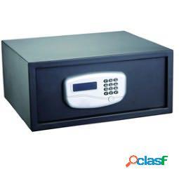 Cassaforte di sicurezza - serratura elettronica - 43,2x37x19,5 cm - 10,5 kg - nero - iternet (unit vendita 1 pz.)