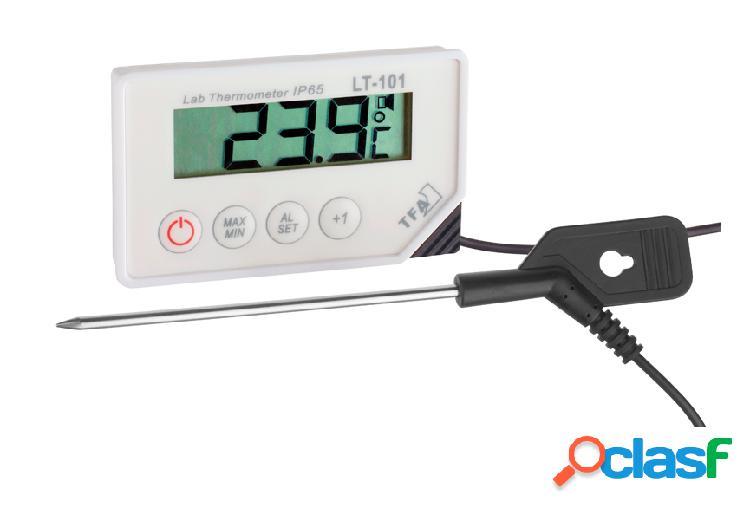 Termometro digitale con sonda e allarme con temperatura -40°c/+200°c