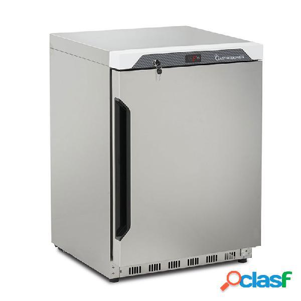 Armadio congelatore digitale statico con temperatura -18°c/-22°c, 120 lt in inox