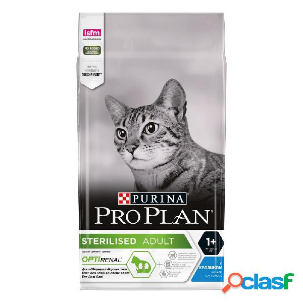 Purina pro plan sterilised con coniglio 1,5 kg.