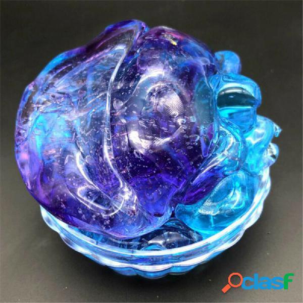 Argilla di decompressione di melma di cristallo multicolore giocattolo regalo fai-da-te antistress