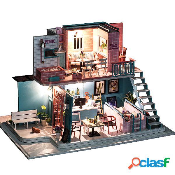 Miniature in legno 3d fatte a mano casa delle bambole mobili per casa delle bambole giocattoli in miniatura fai da te pe