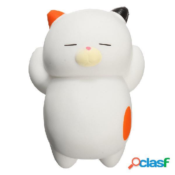 Squishyshop dormire lazy cat soft squishy lento in aumento con il giocattolo decorazione regalo di raccolta di confezion