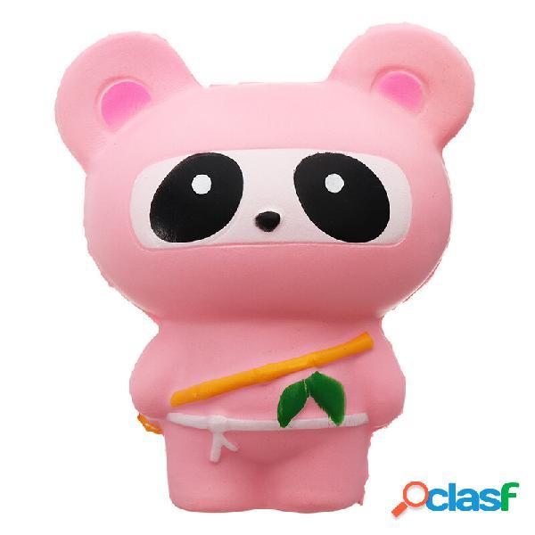 Simpatico jumbo squishy ninja cat fox panda regalo giocattolo per bambini a crescita lenta profumato