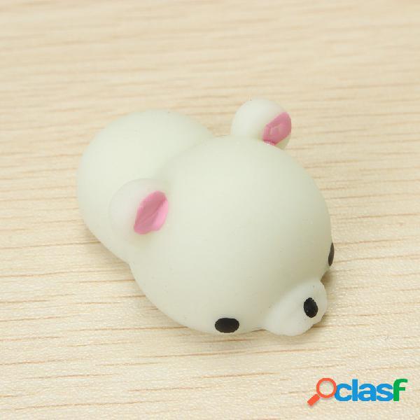 Green bear squishy squeeze simpatico giocattolo curativo collezione kawaii decorazione regalo antistress