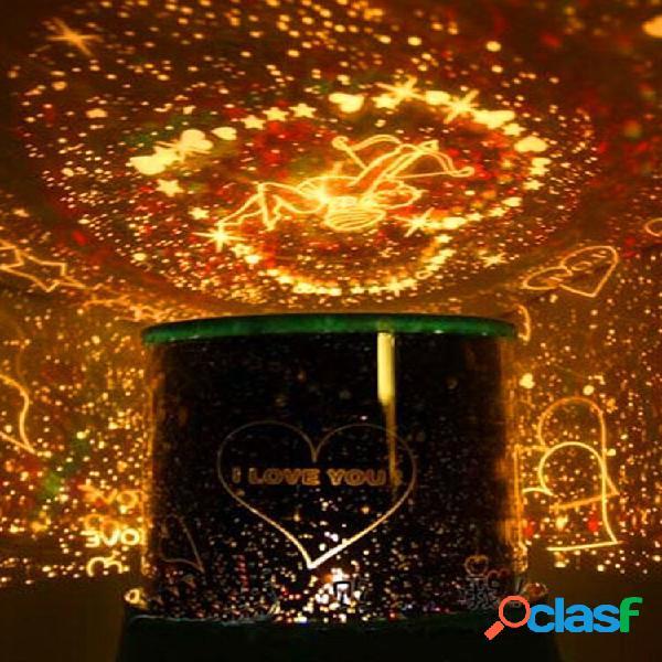 Lampada di amore del cupid di led lampada di cosmos star master sky starry night proiettore gift light