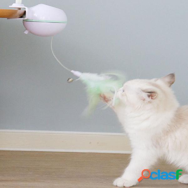Giocattolo gatto elettrico usb pet led laser gatto divertente bastone
