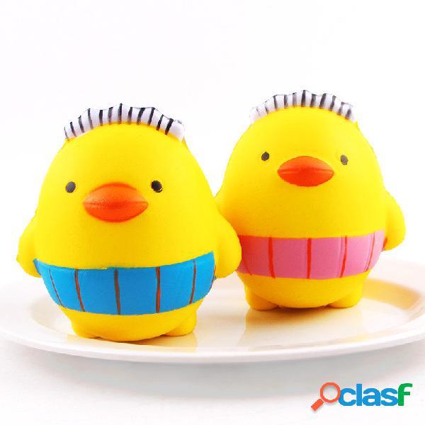 Sanqi elan squishy cartoon chicken pollo baby10cm rallente crescente con il giocattolo regalo di raccolta di confezione