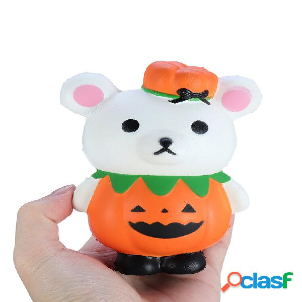 Giocattolo regalo squishy zucca di halloween orso