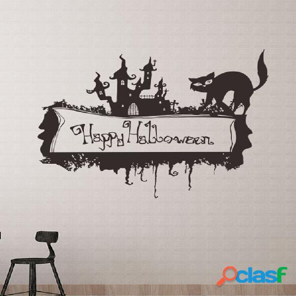 Miico happy halloween sticker wall sticker decorazione di halloween decorazione della stanza